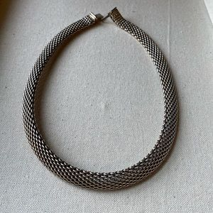 Tiffany Sterling Silver Somerset Mesh nacklace